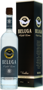 Vodka Beluga Gold Line + GB 40% 1,5l