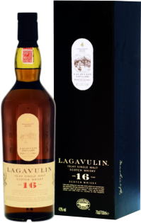 Whisky Lagavulin Islay 16 YO + GB 43% 0,7l
