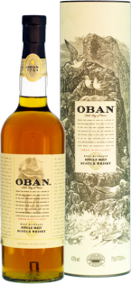 Whisky Oban Single Malt 14 YO + GB 43% 0,7l