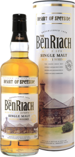 Whisky BenRiach Heart of Speyside + GB 40% 0,7l