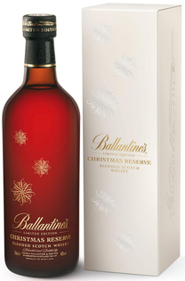 Whisky Ballantines Christmas Edition + GB 40% 0,7l
