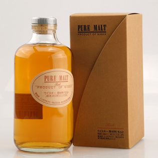 Whisky Nikka Red Pure Malt + GB 43% 0,5l