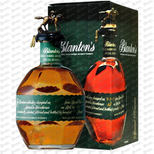 Whisky Blantons Special Reserve + GB 40% 0,7l
