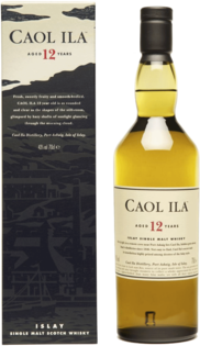 Whisky Caol Ila 12 YO + GB 43% 0,7l