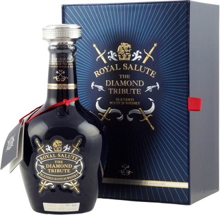 Whisky Chivas Royal Salute Diamond Tribute + GB 40% 0,7l