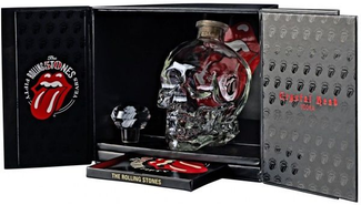 Vodka Crystal Head Rolling Stones + CD 40% 0,7l