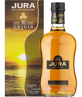 Whisky Isle of Jura 10 YO + GB 40% 0,7l