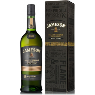 Whisky Jameson Select Reserve Black Barrel + GB 40% 0,7l