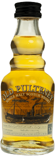 Mini Old Pulteney 12 YO 40% 0,05l