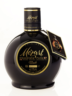 Mozart Pure Black Dark Chocolate Cream 17% 0,5l
