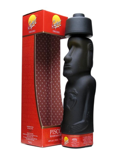Pisco Capel Moai Statue + GB 40% 0,7l