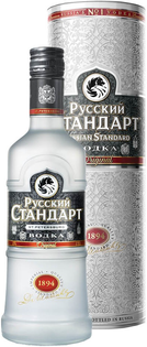 Vodka Russian Standard v tube 40%1l