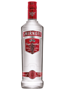 Vodka Smirnoff Red 37,5% 0,7l