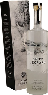 Snow Leopard Vodka GB 40% 1l
