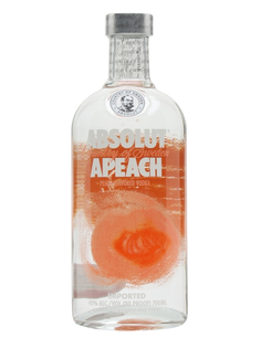 Vodka Absolut Peach 40% 1l