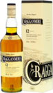Whisky Cragganmore Single Malt 12 YO + GB 40% 0,7l