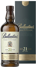 Whisky Ballantines 21 YO + GB 43% 0,7l