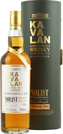 Whisky Kavalan Solist Bourbon + GB 59,4% 0,7l