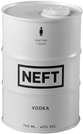 Neft Vodka White Barrel 40% 0,7 l