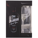 Gin Dictador Premium Colombiana Treasure Black + pohár 43% 0,7l