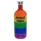 Vodka Absolut Colors Rainbow Limited Ed. 40% 0,7l