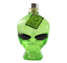 Outerspace alien head vodka 40% 0,7L